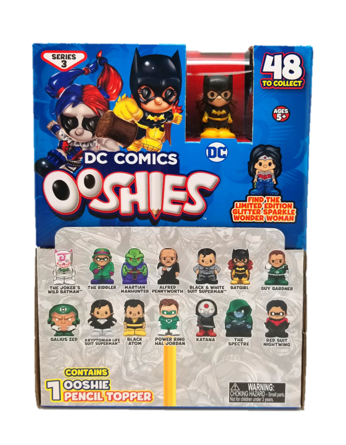 cf41db00d6a NEW! Ooshies DC Comics Series 3. Blind Bag Common, Rare, Ltd Edition ...