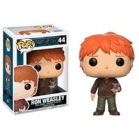 Funko Pop! Vinyl Harry Potter Ron Weasley with Scabbers