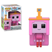Funko Pop! Vinyl Adventure Time x Minecraft Princess Bubblegum