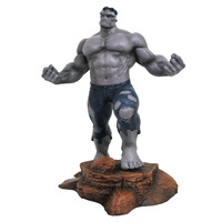 SDCC 2018 Diamond Select Toys Marvel Gallery Grey Hulk PVC Statue Exclusive