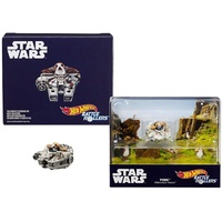 SDCC 2018 Mattel Hot Wheels Star Wars Porg Millennium Falcon Battle Roller Car Exclusive
