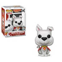 Funko Pop! Vinyl DC Superman Krypto Specialty Store Series Exclusive