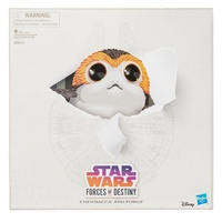 SDCC 2018 Hasbro Star Wars Forces of Destiny Chewbacca and Porgs. Exclusive