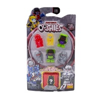Ooshies Transformers Series 1. 7-Pack. Hologram Ironhide, Hologram Bumblebee, Mixmaster,