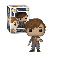 Funko Pop! Vinyl Fantastic Beasts The Crimes of Grindelwald Newt with Postcard. US Exclusive