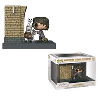 Funko Pop! Vinyl Harry Potter - Harry Potter Entering Platform 9 3/4 Movie Moments. US Exclusive