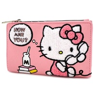 Loungefly Hello Kitty How Are You Pink Bifold Wallet