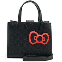 Loungefly Hello Kitty Black with Bow Tote Bag
