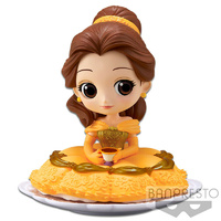 Banpresto Q Posket Sugirly Disney Characters Belle Figure (Normal Colour Ver)