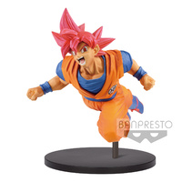 Banpresto Dragon Ball Super Son Goku Fes!! Super Saiyan God Goku Vol.9 Figure