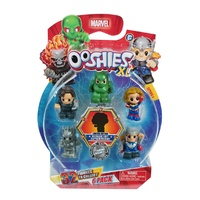Ooshies XL Marvel Series 1. 6 Pack. Bucky, Scorpion, Captain Marvel,