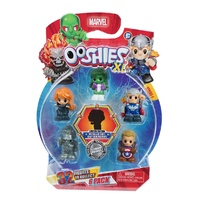Ooshies XL Marvel Series 1. 6 Pack. Black Widow, She-Hulk, Thor,