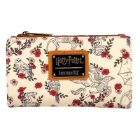 Loungefly Harry Potter Birds and Flowers Flap Wallet