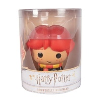 HeadStart Harry Potter - Ron Weasley with Wand 4-Inch Vinyl Edition Figure