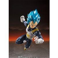 Bandai Tamashii Nations S.H. Figuarts Dragon Ball Super Broly SSGSS Vegeta Action Figure