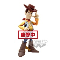Banpresto Disney Pixar Toy Story Woody Comic Stars Figure (Normal Colour Ver)