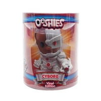 HeadStart Ooshies DC Comics Series 3 Cyborg 4-Inch Vinyl Edition Figure