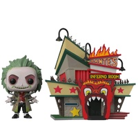 Funko Pop! Town Vinyl Beetlejuice Dante Inferno. US Exclusive