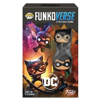 Funko Funkoverse DC Comics 101 2-Pack Expandalone Strategy Board Game