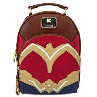 Loungefly DC Comics Wonder Woman Cosplay Mini Backpack