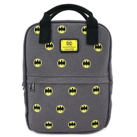 Loungefly DC Comics Batman 80th Anniversary AOP Embroidered Mini Backpack