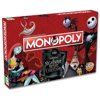 Monopoly Disney The Nightmare Before Christmas