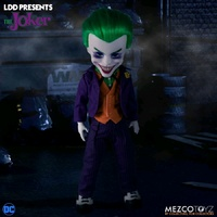 Mezco Toyz Living Dead Dolls LDD Presents DC The Joker