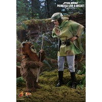 Hot Toys Star Wars Leia & Wicket Return of the Jedi 1:6 Sixth Scale Acton Figures