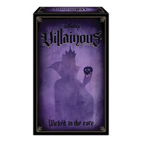 Ravensburger Disney Villainous Wicked to the Core Expansion Pack Board Game