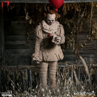 Mezco Toyz One:12 Collective IT 2017 Pennywise Action Figure