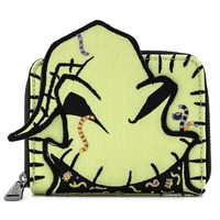Loungefly Disney The Nightmare Before Christmas Oogie Boogie Creepy Crawlies Wallet