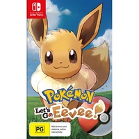 Nintendo Switch Pokemon Let's Go Eevee Game