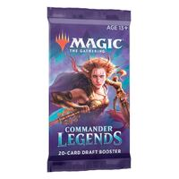 Magic the Gathering Commander Legends Draft Single Booster Pack!
