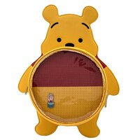 Loungefly Disney Winnie The Pooh Pin Trader Convertible Mini Backpack With Pin