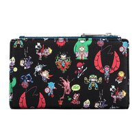 Loungefly Marvel Chibi AOP Flap Wallet