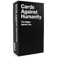 Cards Against Humanity (Bigger) Bigger Blacker Box