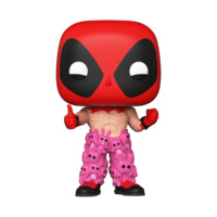 ECCC 2021 Funko Pop! Vinyl Marvel Deadpool with Teddy Belt