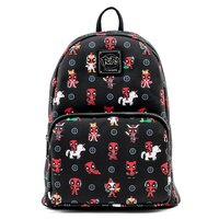 Loungefly Marvel Deadpool Chibi 30th Anniversary Zip-Around Backpack