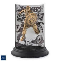 Royal Selangor Marvel Limited Edition Gilt Captain America The Avengers #4