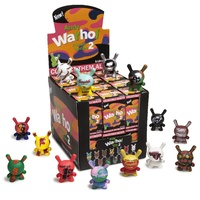 Kidrobot Andy Warhol 3-Inch Dunny Mini Series 2.0. Display Case Of 24 Blind Boxes