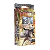 Pokemon TCG Sun and Moon Burning Shadows Rock Steady Theme Deck