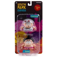 Kidrobot South Park The Many Faces Of Cartman Fingerbang and Sumo 2-Pack