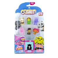 Ooshies DreamWorks Series 1. 7 Pack. Master Shifu, Fiona, Hologram Creek,