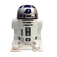 Star Wars The Force Awakens. Ceramic R2-D2 Coin Bank.