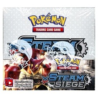 Pokemon TCG. XY Steam Siege Booster Box. 36 Booster Packs.