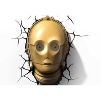 3D Light FX. Star Wars. C-3PO. 3D LED Deco Light. Nightlight.
