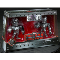 SDCC 2016. Jada Toys 4 Inch Metals. Civil War. Captain America & Ironman