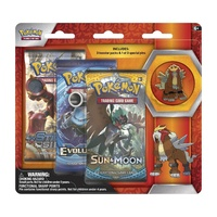 Pokemon TCG Legendary Beasts. Collector's Pin 3 Pack. Entei