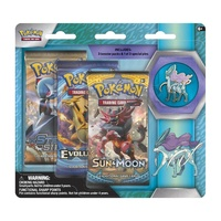 Pokemon TCG Legendary Beasts. Collector's Pin 3 Pack. Suicune.