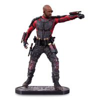 DC Collectibles Suicide Squad Deadshot Statue Sculpted by Adam Ross